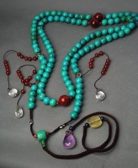 Tuequoise Buddha Necklace