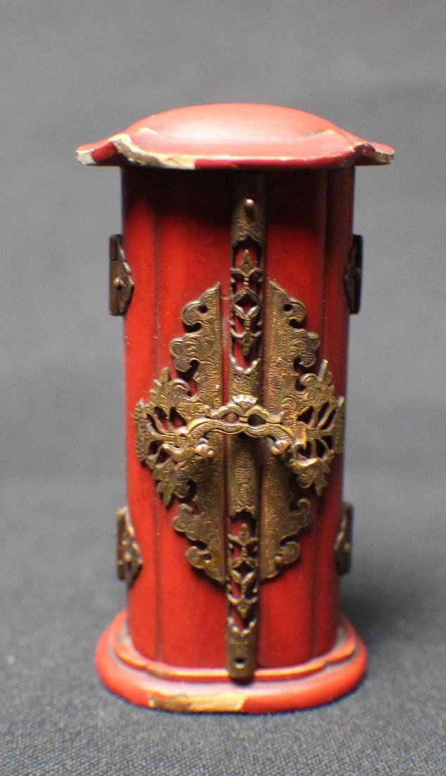 A Rosewood Pocket Buddha - 3
