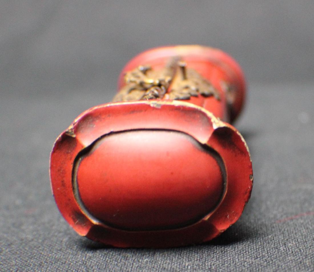 A Rosewood Pocket Buddha - 4