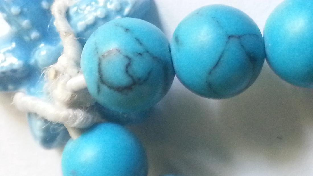 2 Beautiful Unisex Turquoise