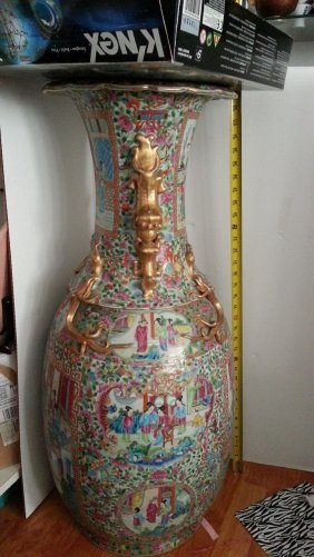 Antique Chinese Famille Rose Porcelain vase ????