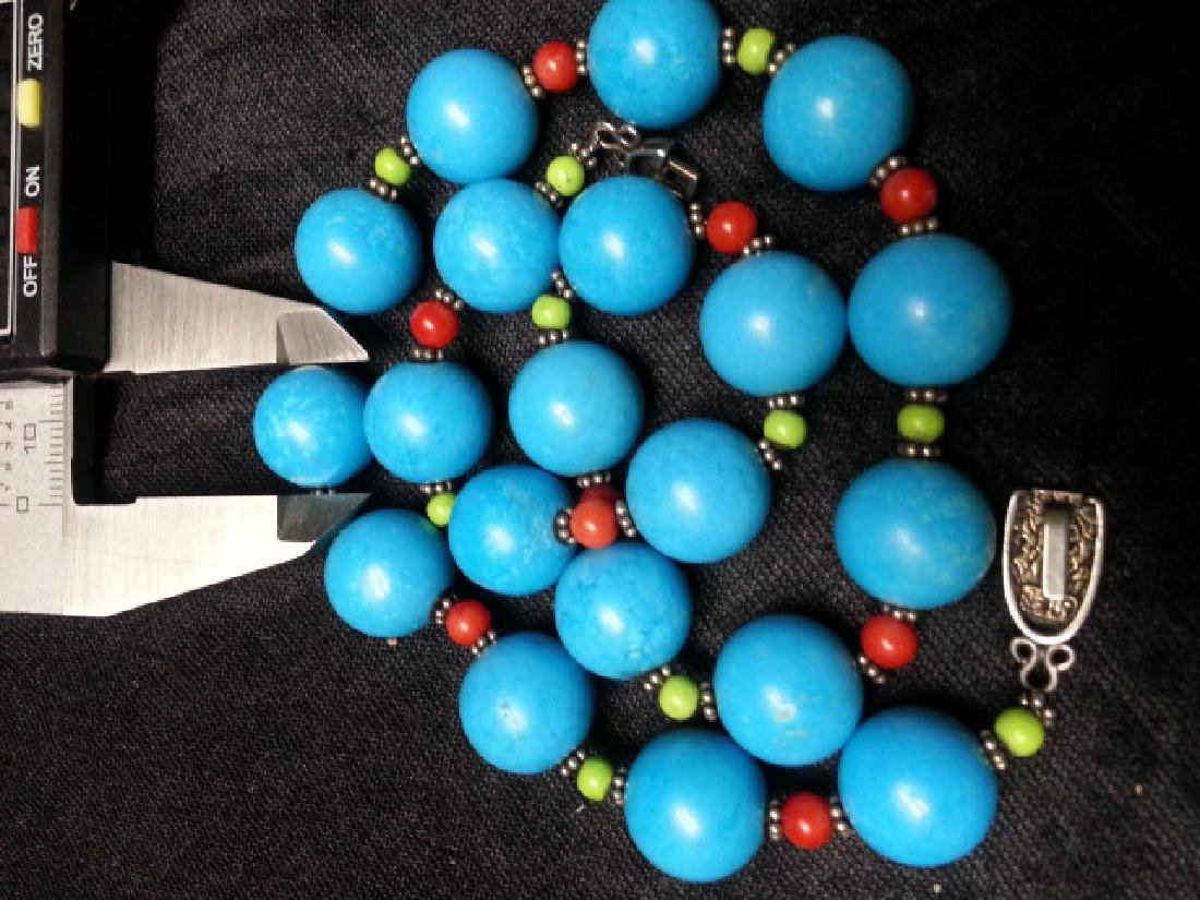 Coral Turquoise NECKLACE - 2