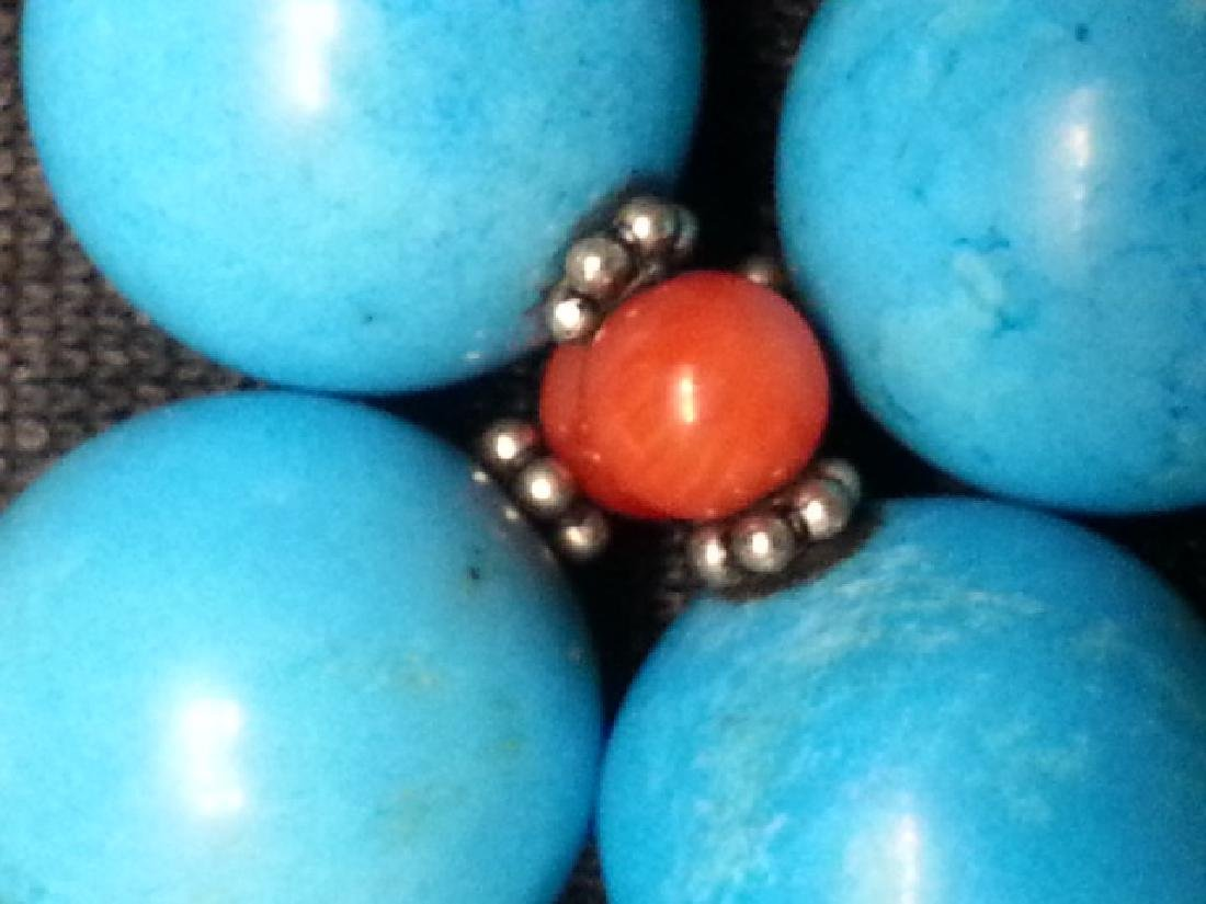 Coral Turquoise NECKLACE - 4