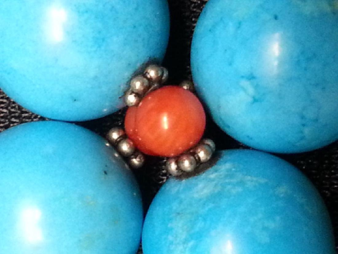 Coral Turquoise NECKLACE - 5