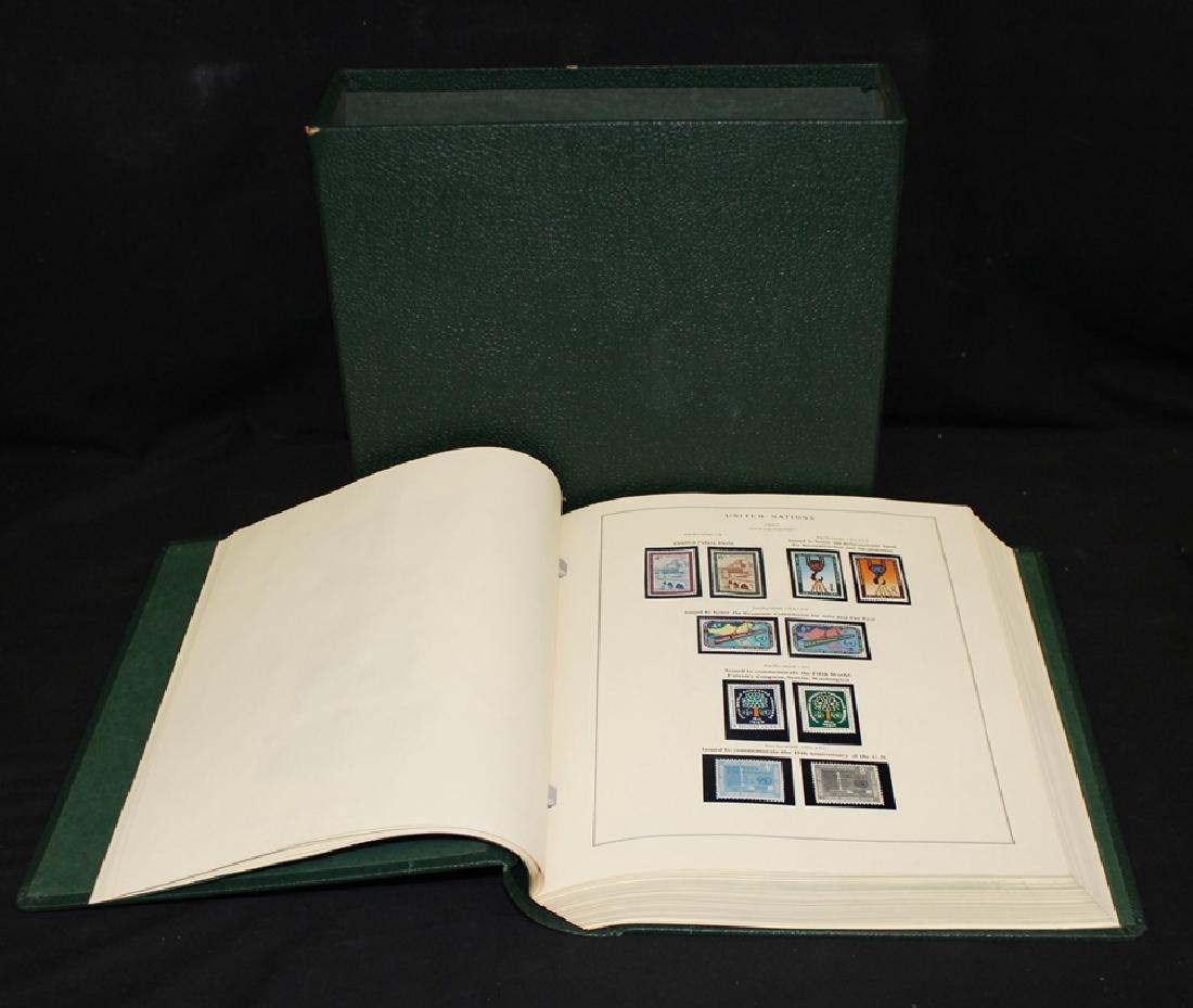 United Nations Scott Specialty Album w/Slipcase to 1970