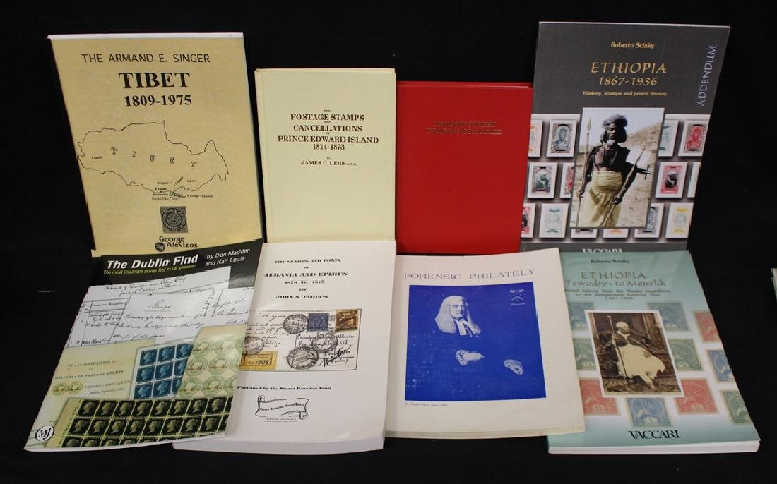 Philatelic Literature Lot (8)