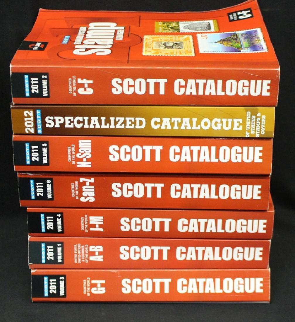 2011 Scott Catalogs Vol. 1-6 and 2012 U.S. Specialized