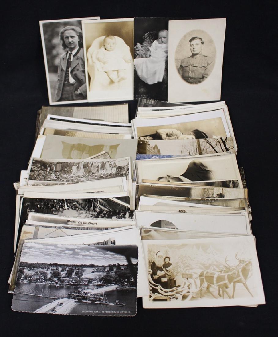 (150)+ Postcards - Real Photos