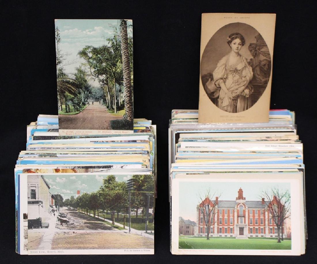 (500-600) Postcards - Towns Views Scenes