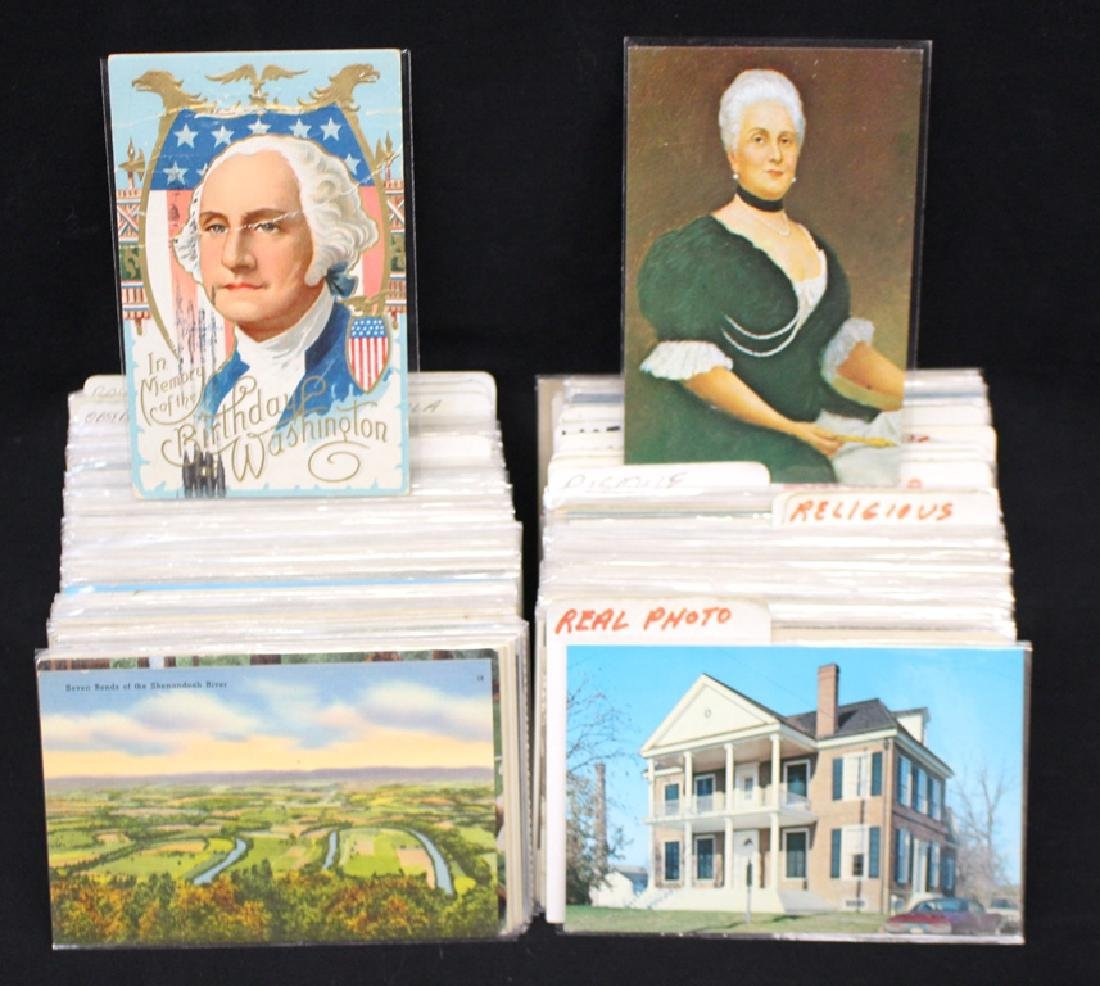 (350-450) Postcards - Topicals Towns Views