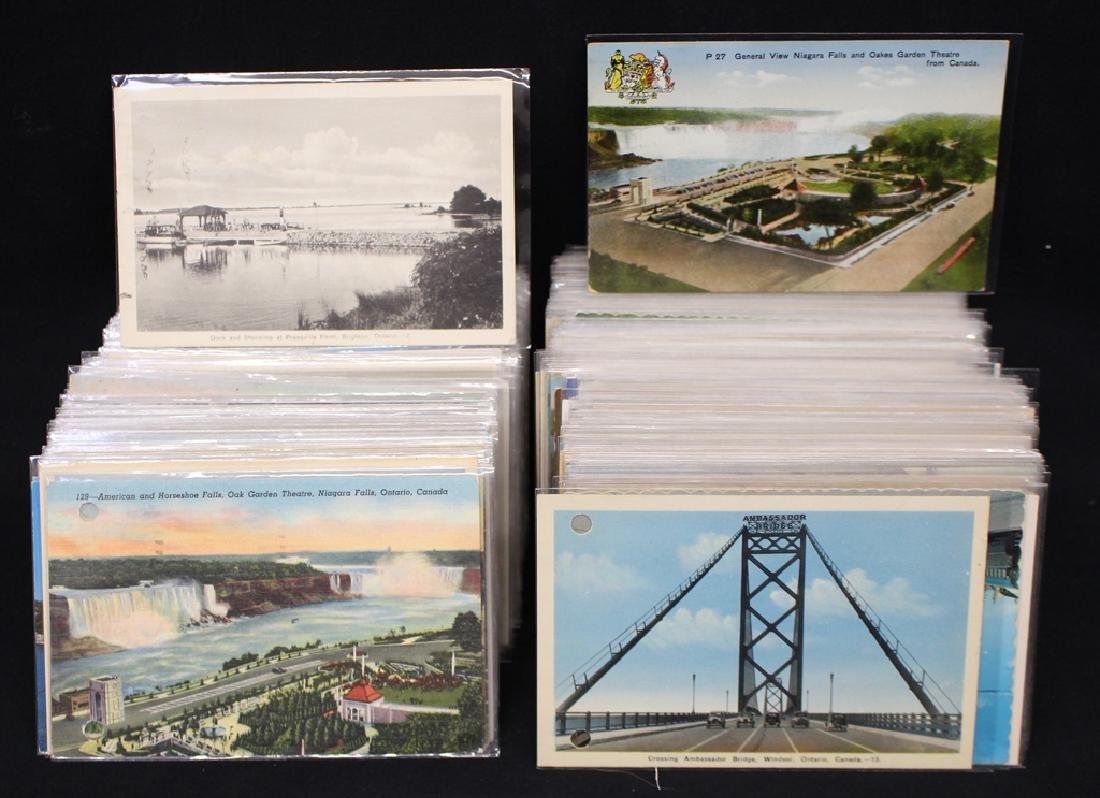 (350-450) Canada Postcards Towns Views Scenes