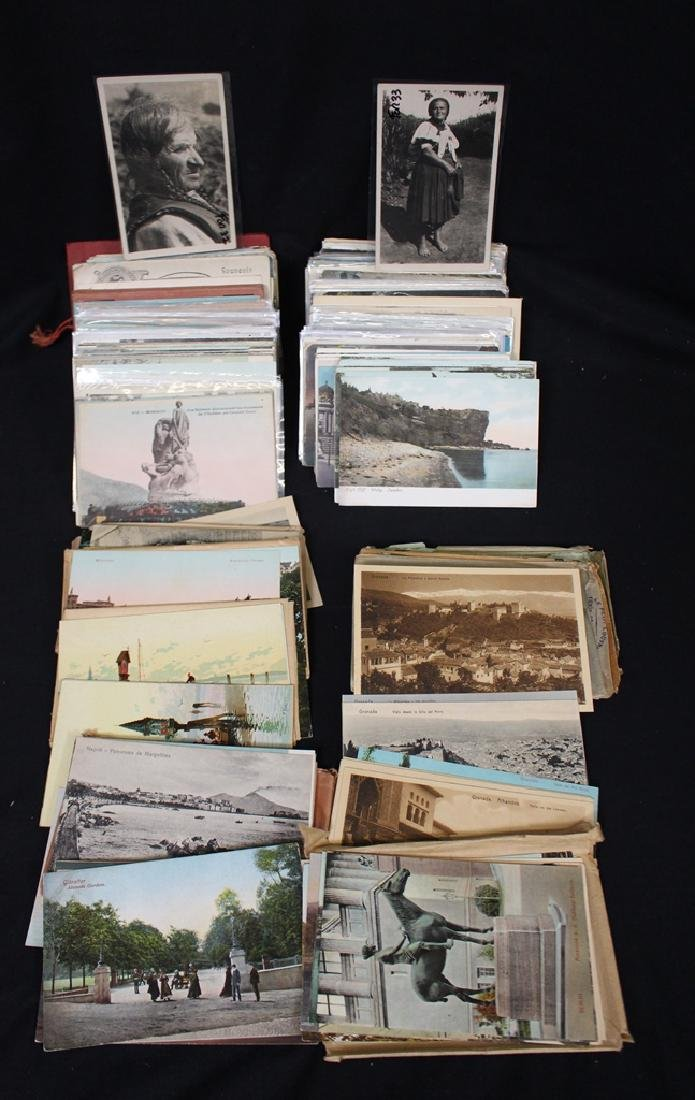Europe - (400-600) Postcards