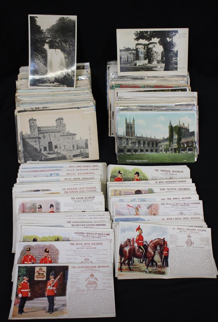Great Britain - (600-800) Postcards