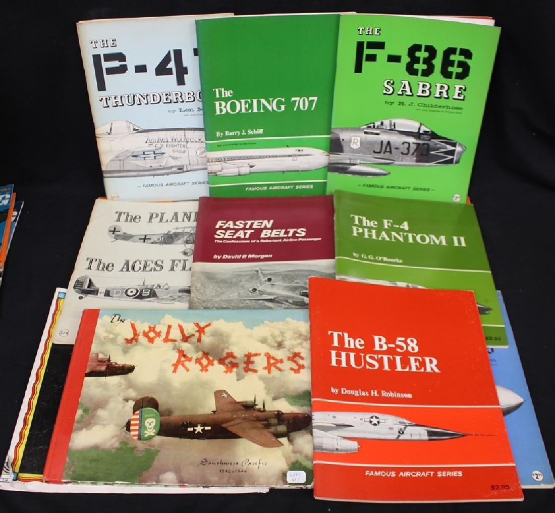 Useful Paper Ephemera Lot Aircraft Zeppelin Material - 2