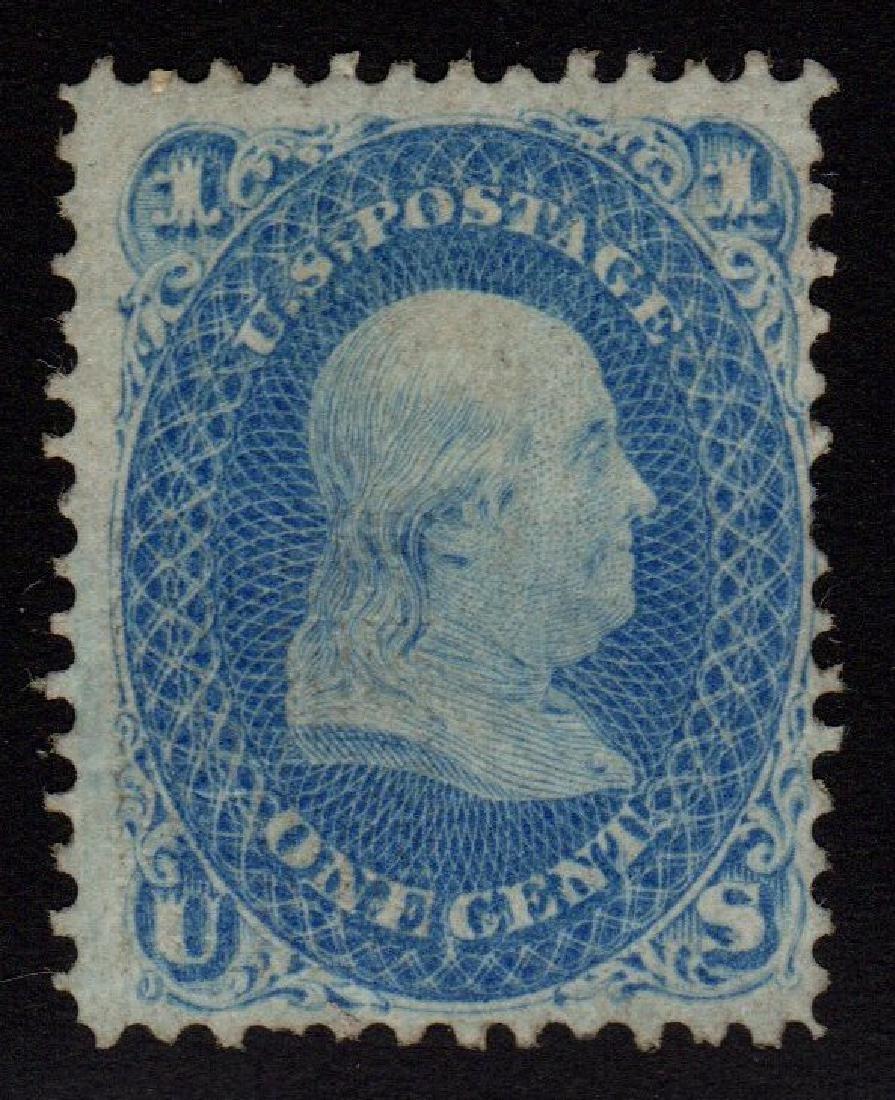 United States Scott 92 Fine+ OG H SCV.$3000