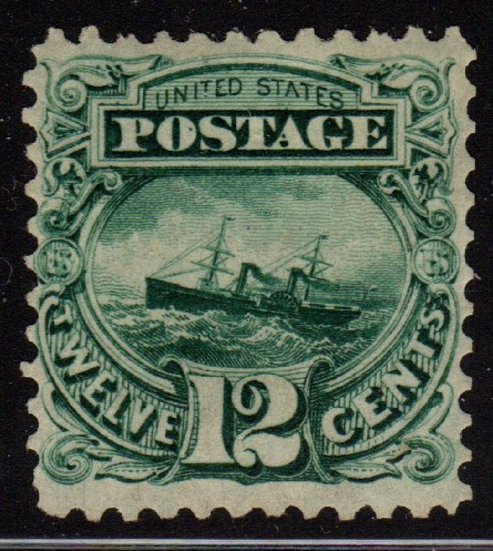 United States Scott 128 VF OG H 2016 PSE cert SCV.$2250