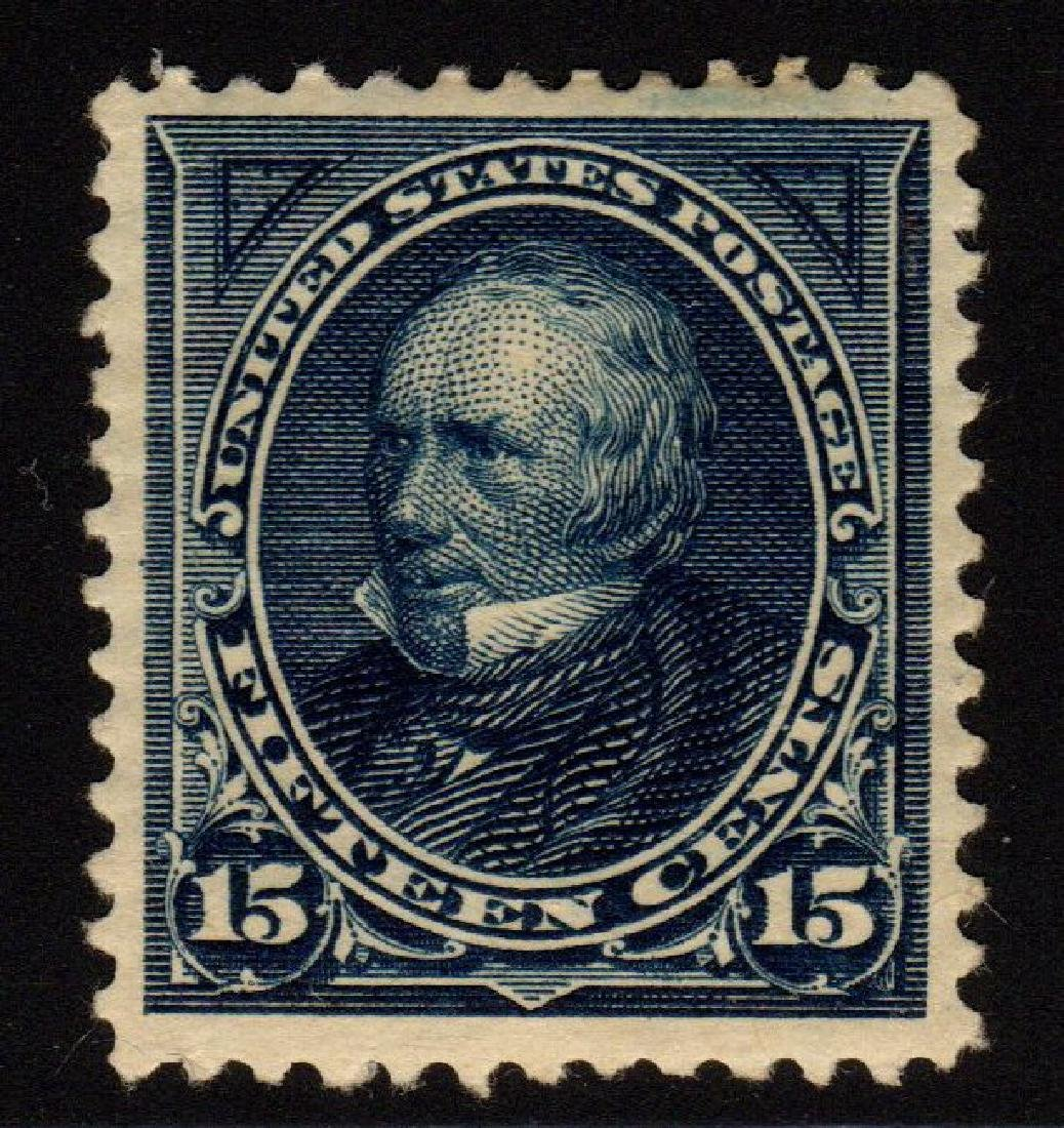 United States Scott 259 VF OG H 15¢ Clay SCV.$275