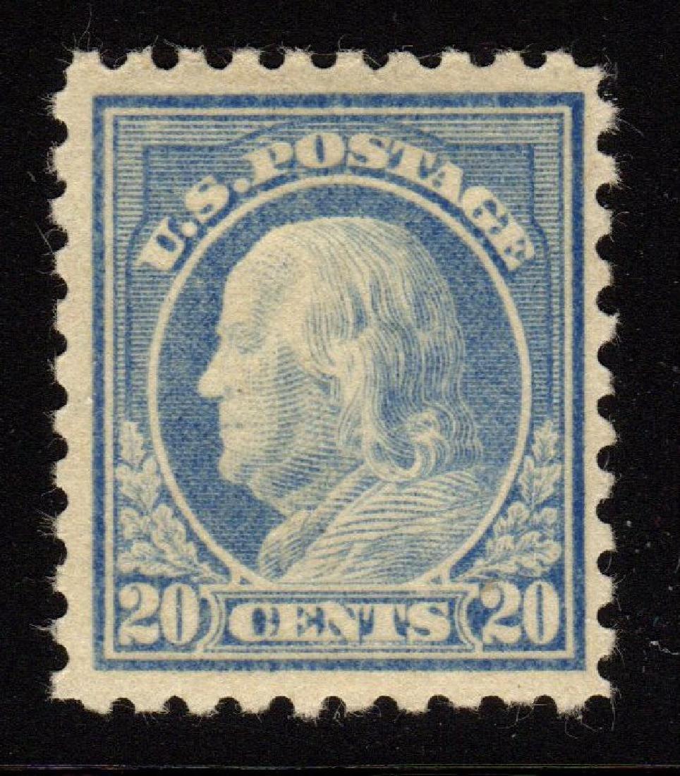 United States Scott 476 VF OG H 20¢ Franklin SCV.$225