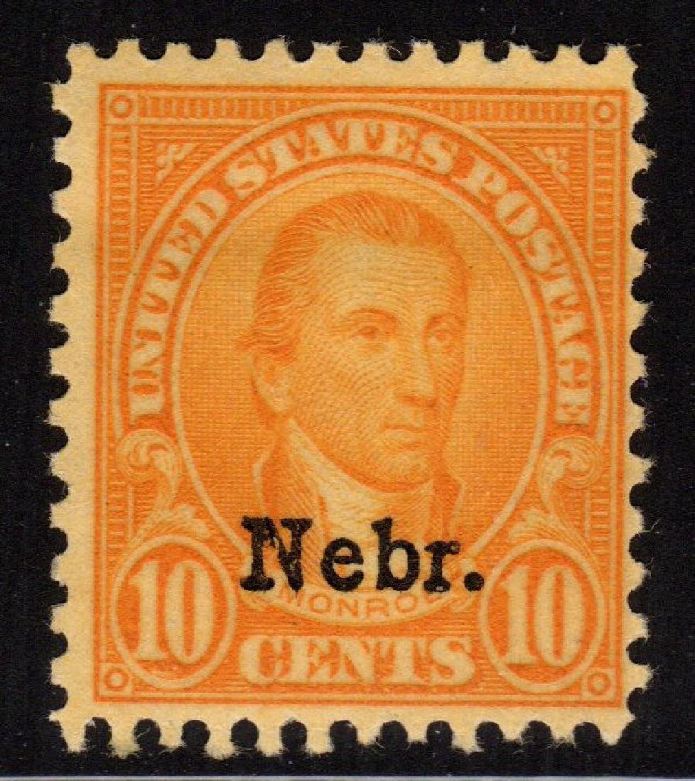 United States Scott 679 Fine OG NH SCV.$180