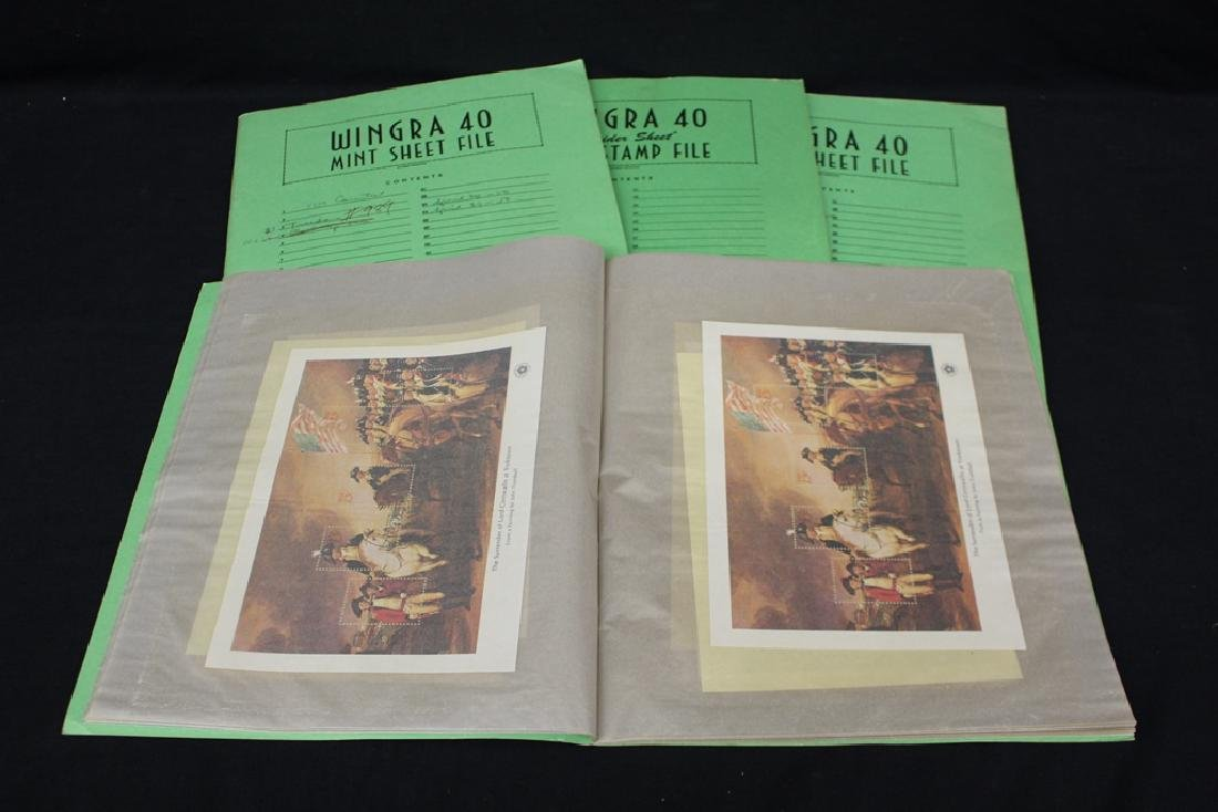 United States Scott 1686-1689 Bicentennial Sheets (40)