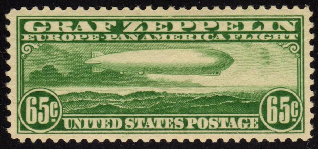 United States Scott C13 XF OG LH Graf Zeppelin SCV.$190
