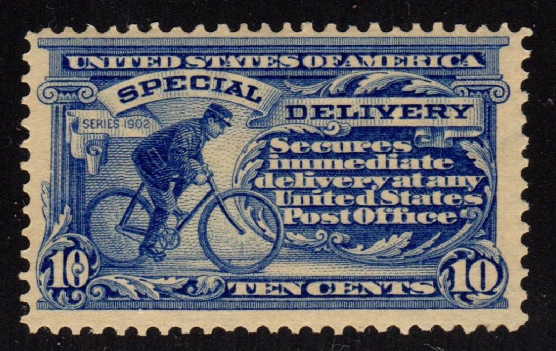 United States Scott E8 F-VF OG LH SCV.$110