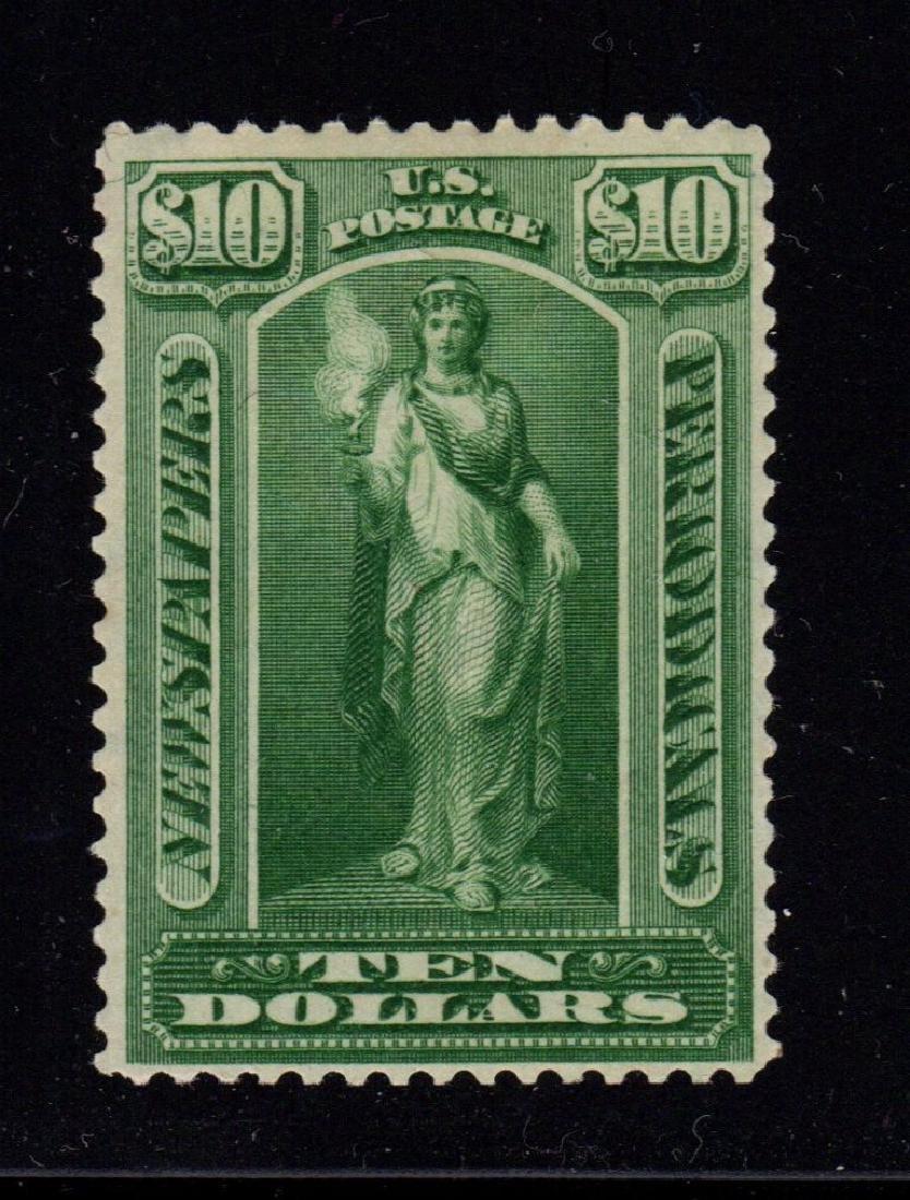 United States Scott PR122 VF OG NH $10 Newspaper