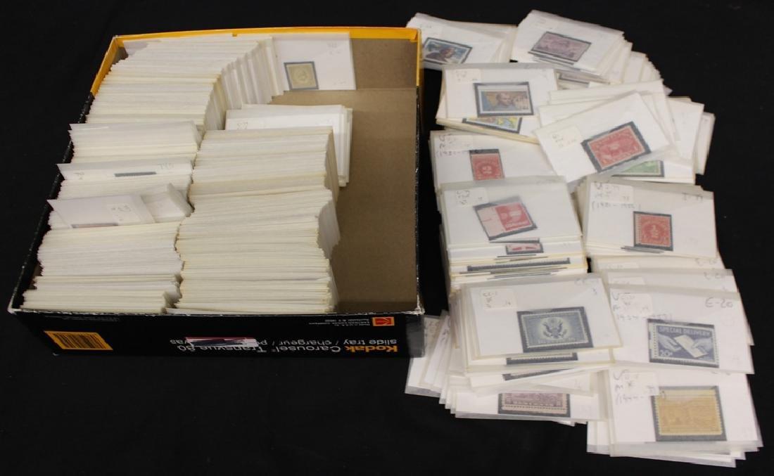 United States Unused Stamp Accumulation