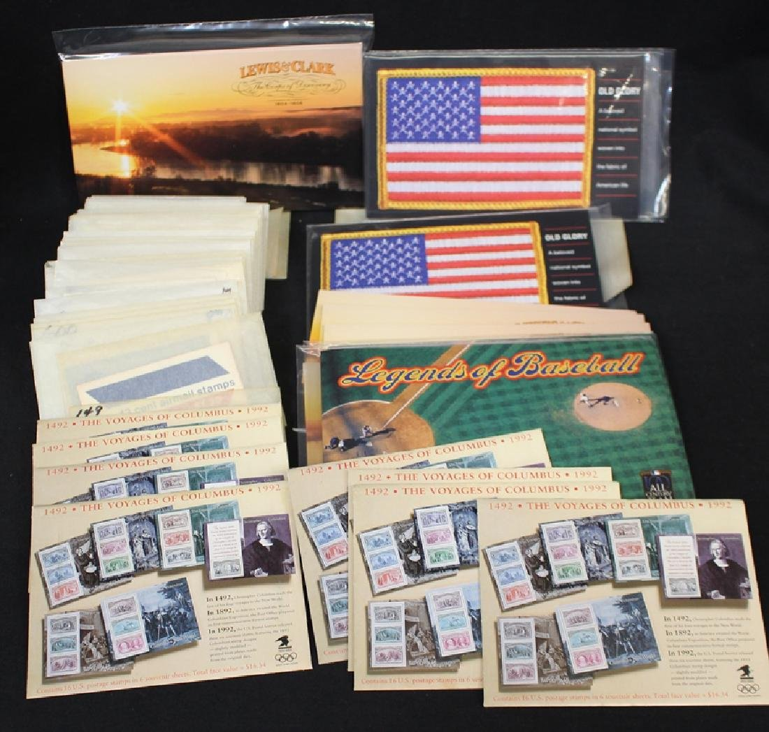 United States Booklets and Souvenir Sheets Face $310+