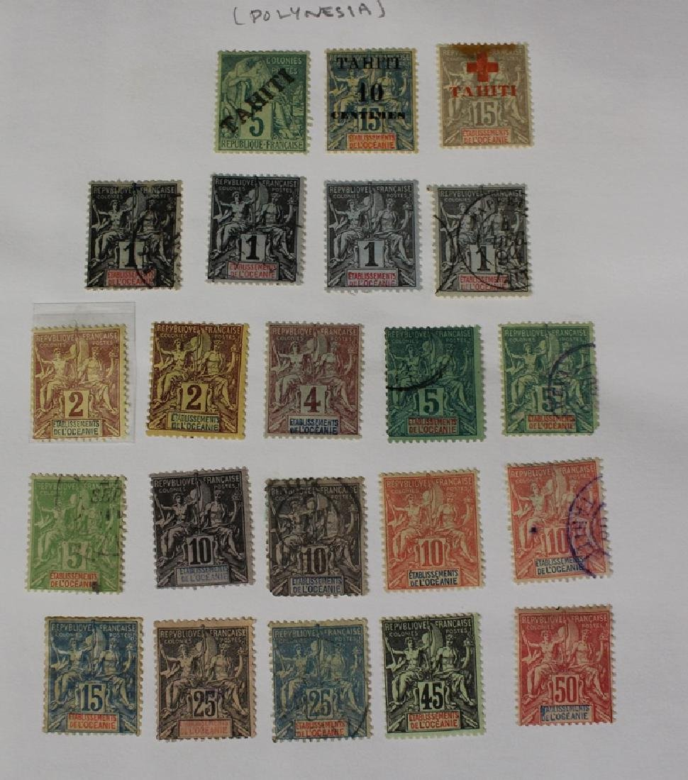 French Polynesia Unused Used Stamp Collection