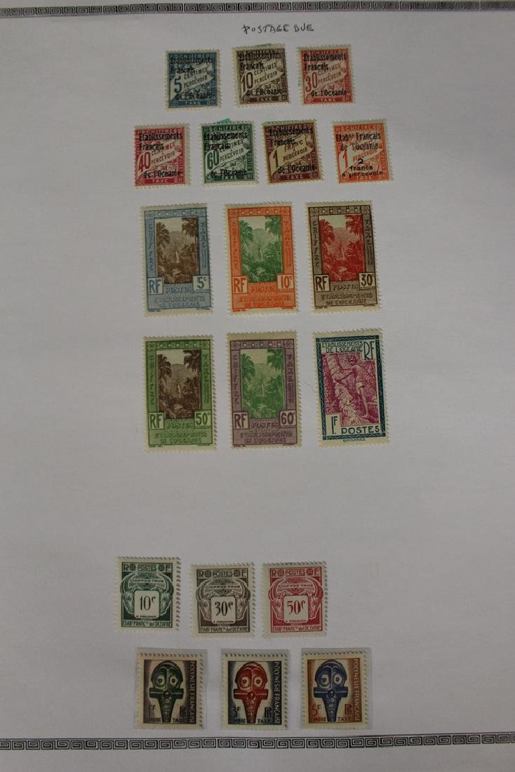French Polynesia Unused Used Stamp Collection - 3