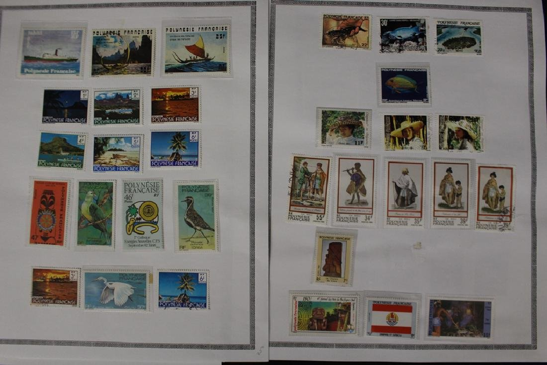 French Polynesia Unused Used Stamp Collection - 4