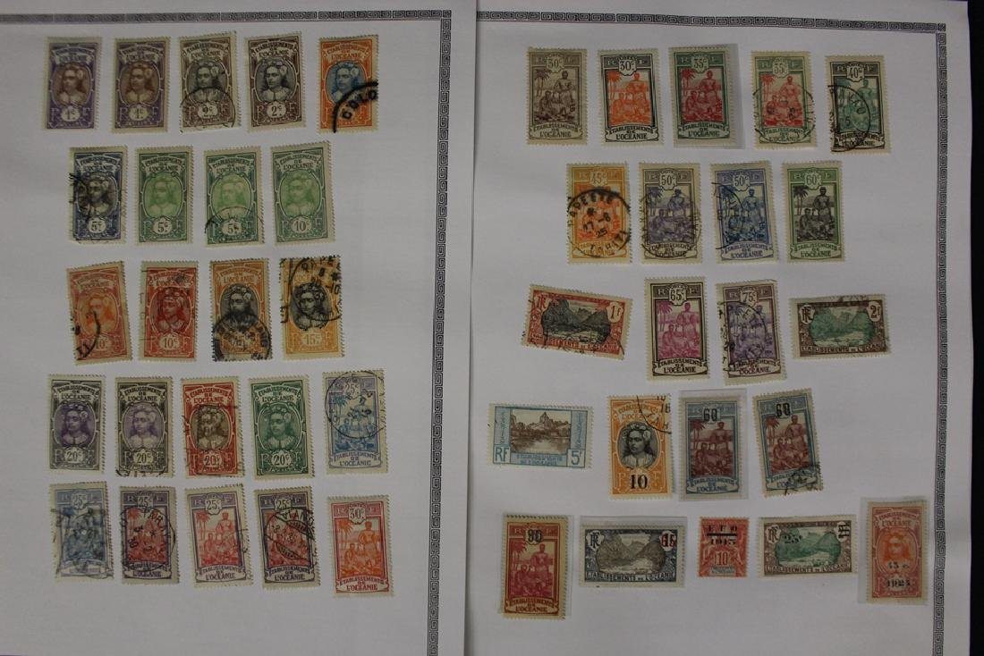 French Polynesia Unused Used Stamp Collection - 5