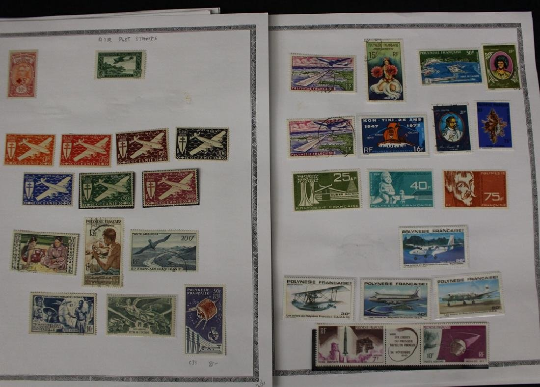 French Polynesia Unused Used Stamp Collection - 6