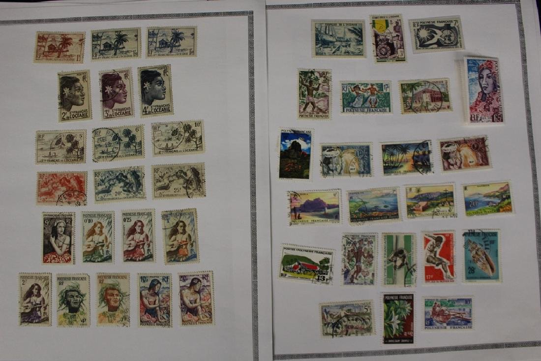 French Polynesia Unused Used Stamp Collection - 7