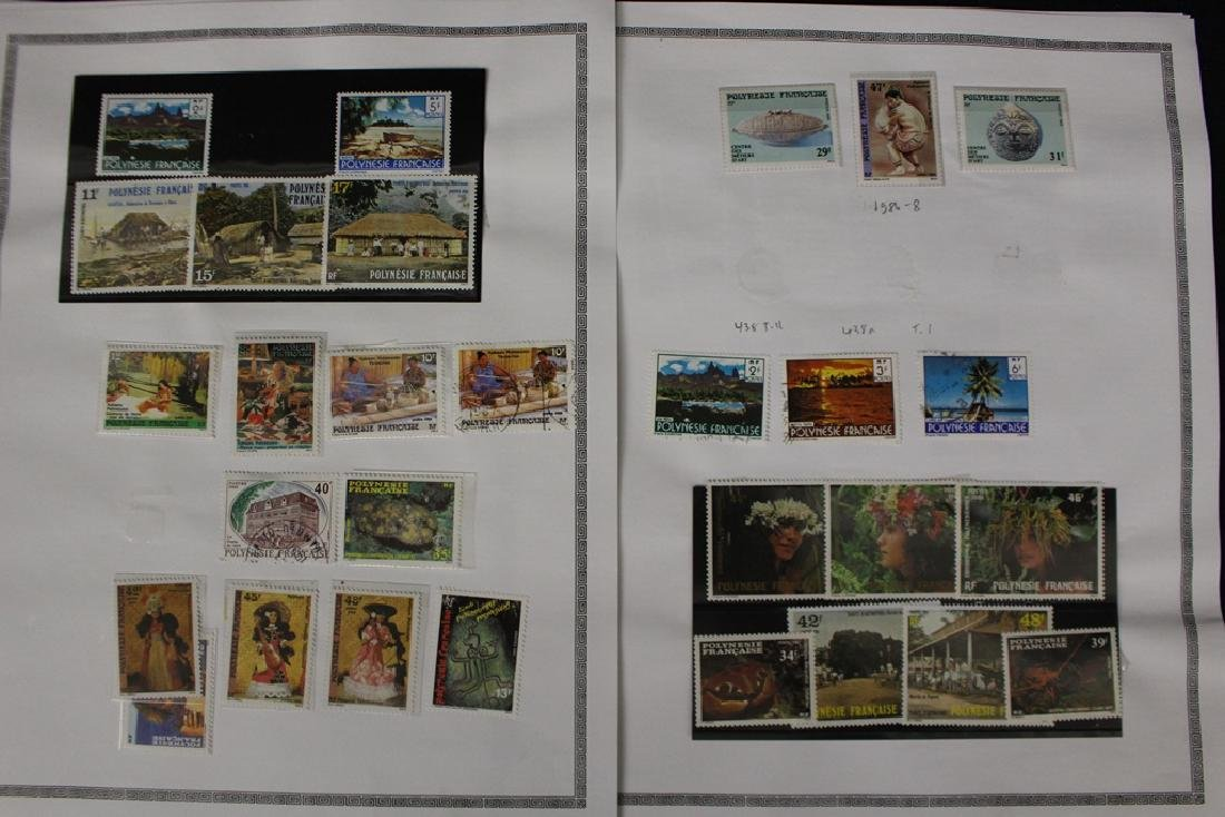French Polynesia Unused Used Stamp Collection - 8