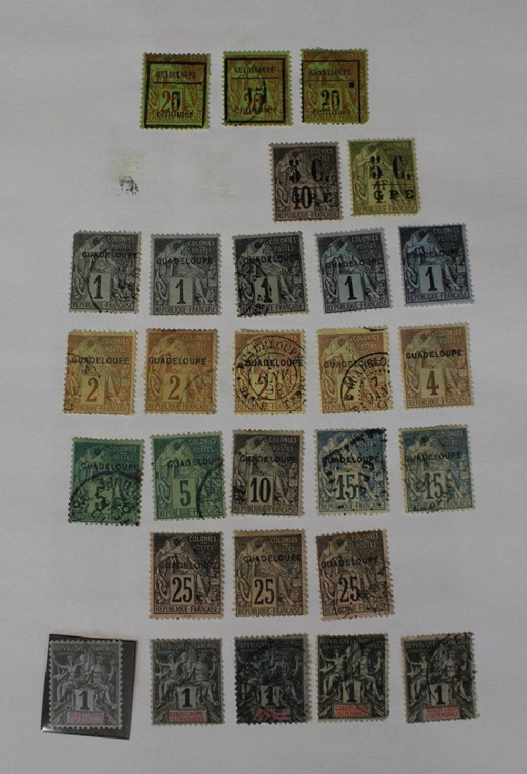 Guadeloupe Unused Used Stamp Collection