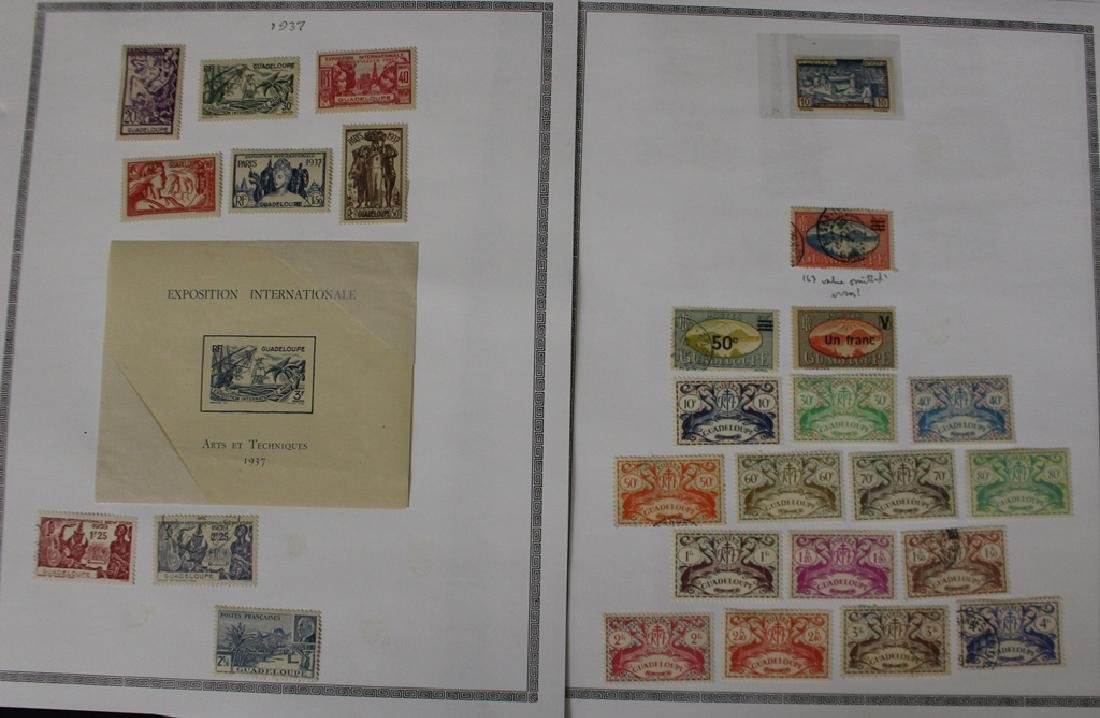 Guadeloupe Unused Used Stamp Collection - 3