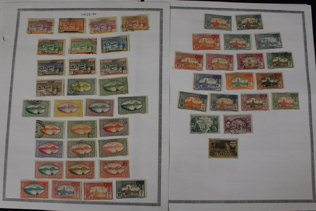 Guadeloupe Unused Used Stamp Collection - 4