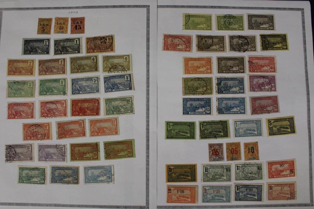 Guadeloupe Unused Used Stamp Collection - 5
