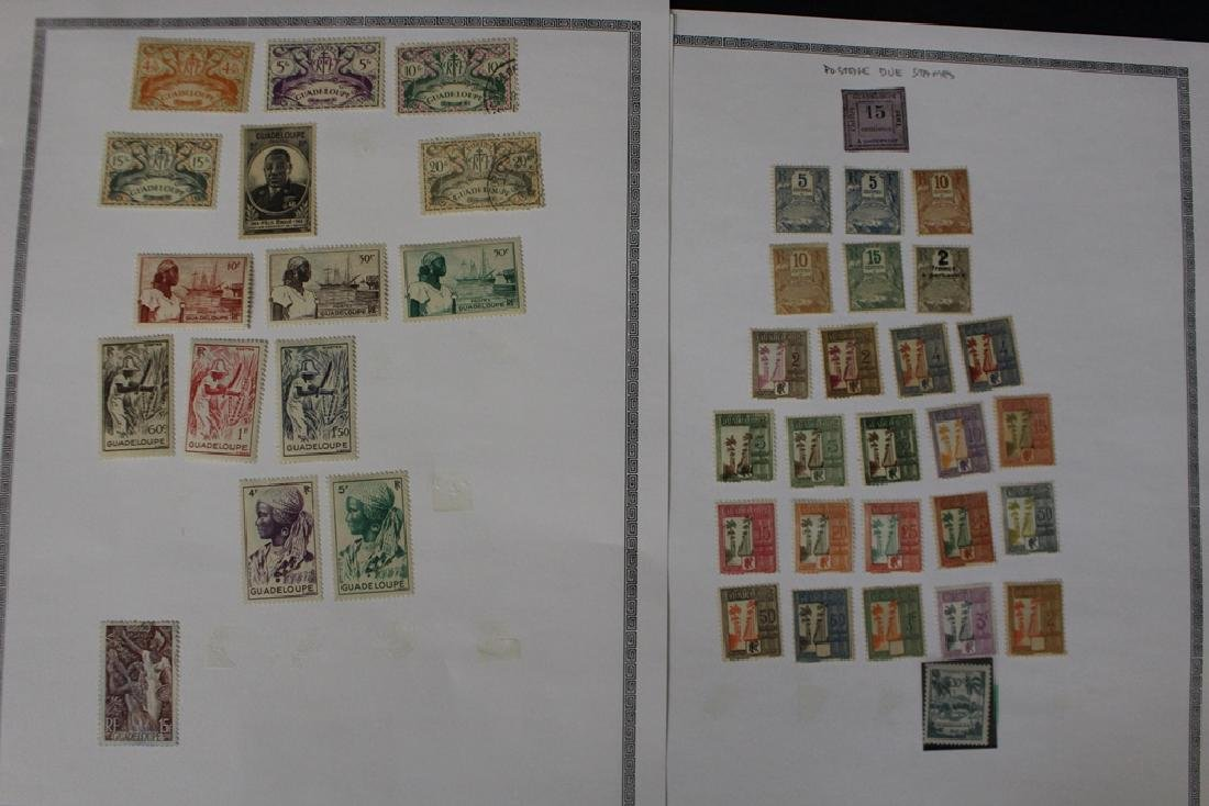 Guadeloupe Unused Used Stamp Collection - 6