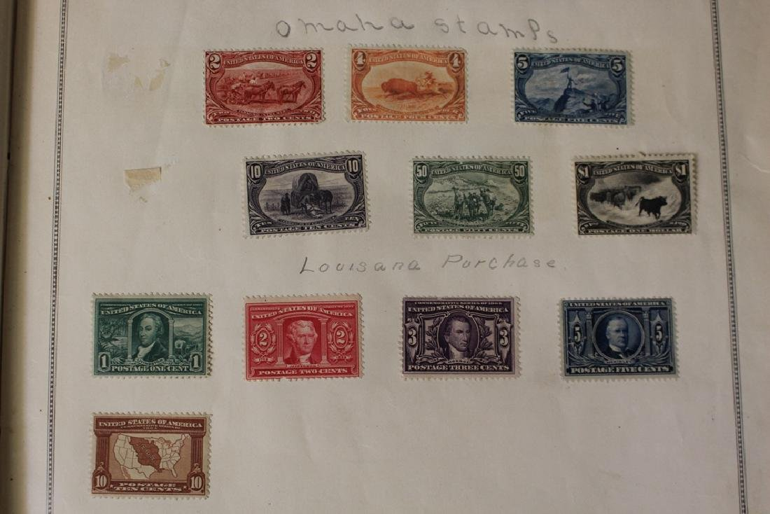 U.S. and Worldwide Stamp Collection in 19th c. Album