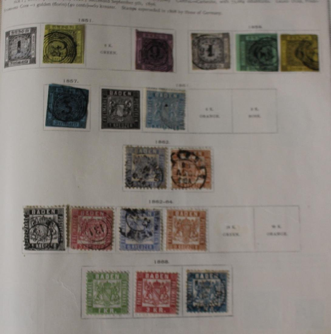 U.S. and Worldwide Stamp Collection in 19th c. Album - 3