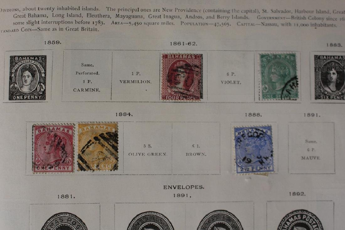 U.S. and Worldwide Stamp Collection in 19th c. Album - 4