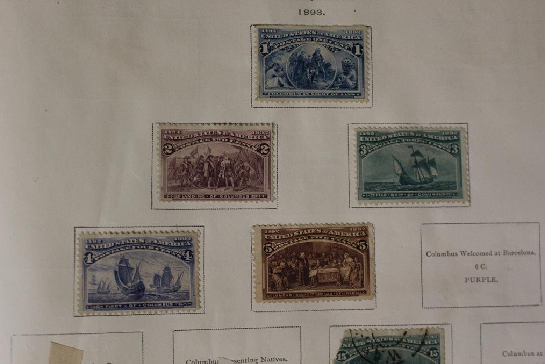 U.S. and Worldwide Stamp Collection in 19th c. Album - 5