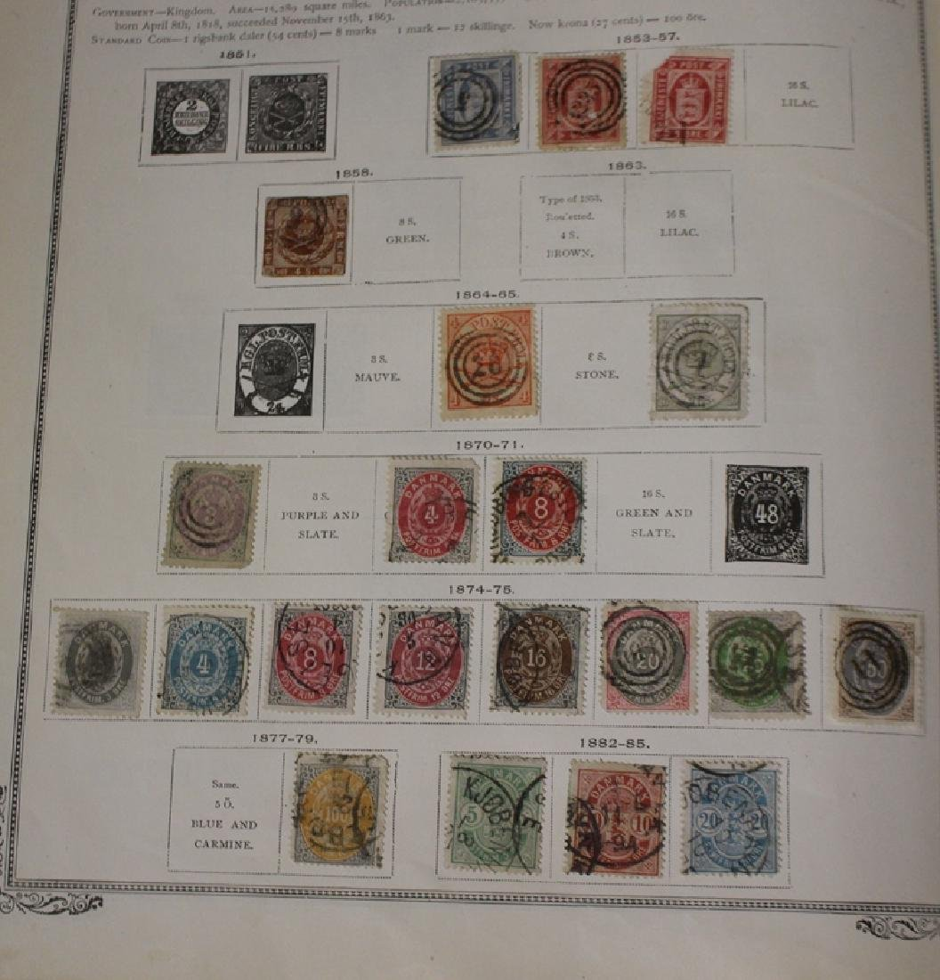 U.S. and Worldwide Stamp Collection in 19th c. Album - 6