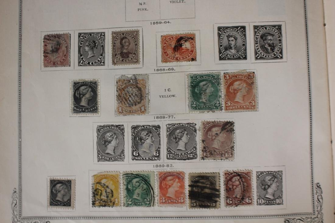 U.S. and Worldwide Stamp Collection in 19th c. Album - 7