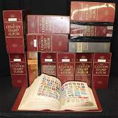 Large Worldwide Stamp Collection 14Volumes