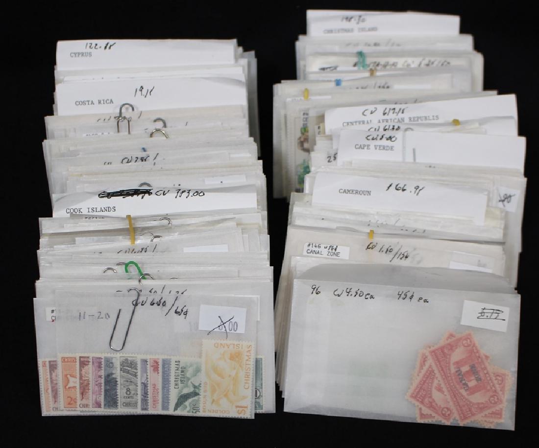 Worldwide Stamp Lot Cameroun-Czech