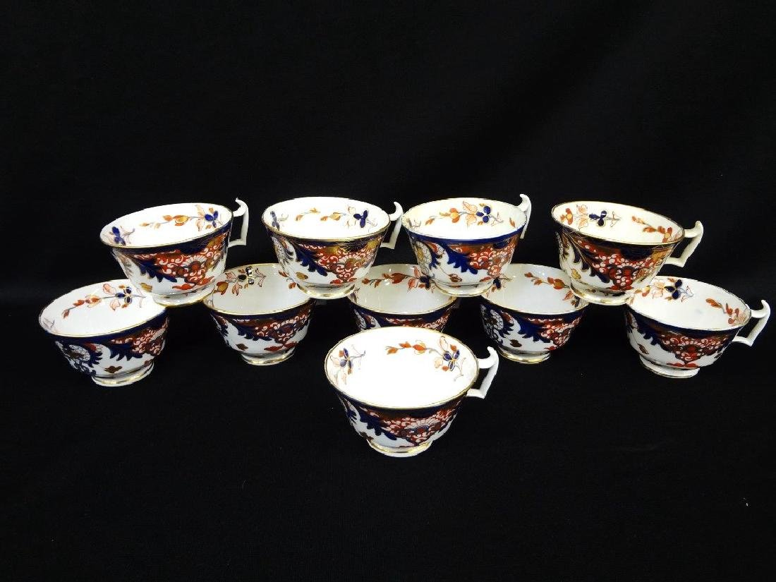 Royal Crown Derby China 1784-1820 (10) Tea Cups